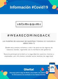 Reapertura tiendas Intimissimi #covid19