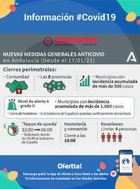 Nuevas medidas generales Andalucía - #Covid19