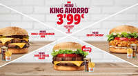 Menú King Ahorro