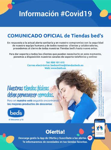 Comunicado oficial de tiendas Bed's #Covid19- Page 1
