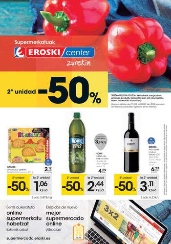 2ª unidad -50% - Eroski Center- Page 1