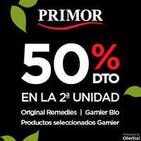 50% en la 2ª unidad Garnier