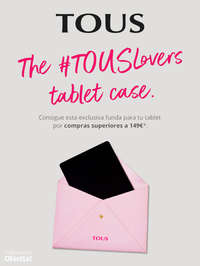 The #TousLovers tablet case