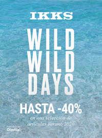 Wild, wild days. Hasta -40%