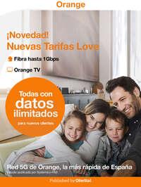 Novedades Orange Octubre 2021