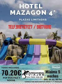 Hotel en Mazagón