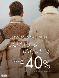 Coats & Jackets. Todo al -40%