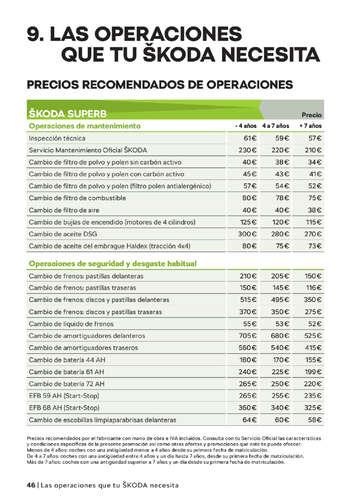 Catálogo de Servicios Škoda 2021- Page 1