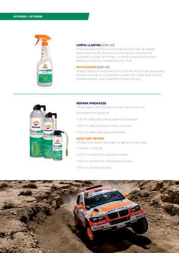 Productos para el cuidado y mantenimiento del vehículo- Page 1