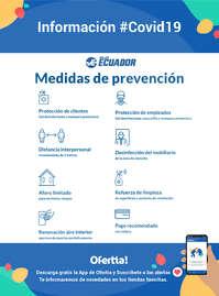 Medidas de prevención Viajes Ecuador - #Covid19