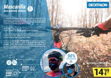 Mascarilla para practicar ciclismo- Page 1