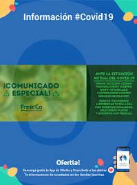 Información Fresc Co #Covid19