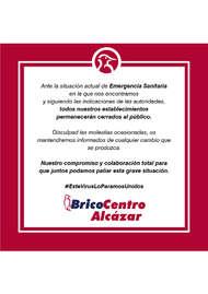 Bricocentro Informa - Alcázar #EsteVirusLoParamosUnidos