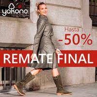 Remate Final. Hasta -50%