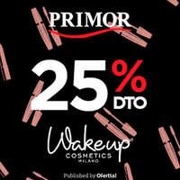 25% en Wakeup Cosmetics