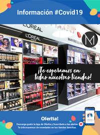 Información #Covid19 - ¡Te esperamos en todas nuestras tiendas!