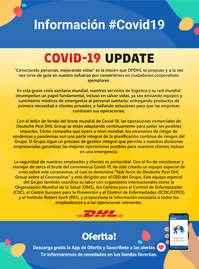 Información DHL #Covid19