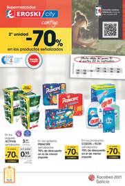 - 2ª unidad -70% en los productos señalizados -