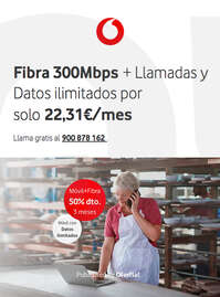 Móvil + Fibra 50% dto