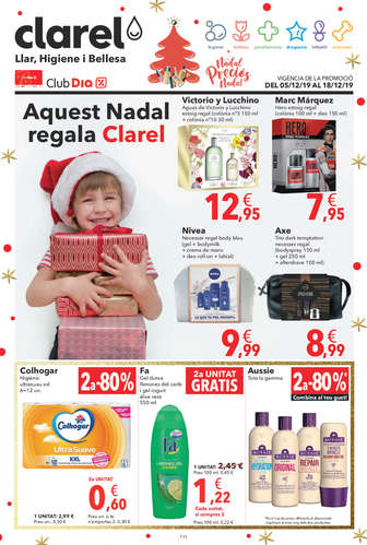 Aquest Nadal regala Clarel- Page 1