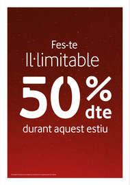 Fes-te Il·limitable - 50% dte durant aquest estiu
