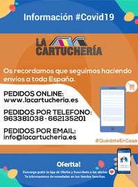 Información La Cartuchería #Covid19