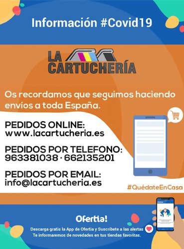 Información La Cartuchería #Covid19- Page 1