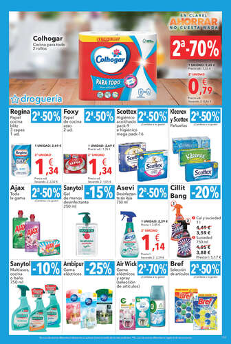 En Clarel ahorrar no cuesta nada- Page 1