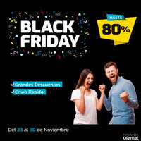 Grandes descuentos en Black Friday