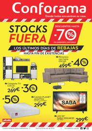 ¡Liquidación de stock en Conforama!