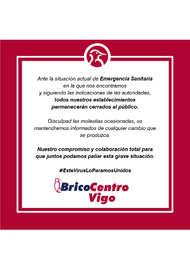 Bricocentro Informa - Vigo #EsteVirusLoParamosUnidos