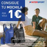 Consigue tu mochila 🎒 por sólo 1€