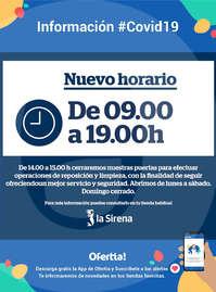 Información La Sirena #Covid19