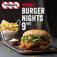 Viernes Burger Nights