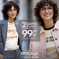 2 gafas de marca + cristales incluidos en súper promoción 🔥