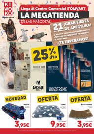 Llega al Centro Comercial S'Olivart la MEGATIENDA de las mascotas