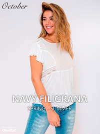 Navy Filigrana