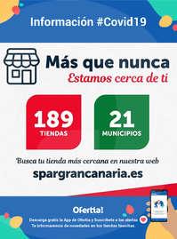 Información SPAR Gran Canaria #Covid19