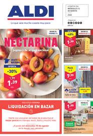 Nectarina jugosa y de origen nacional
