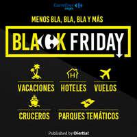 Menos bla bla bla y más Black Friday