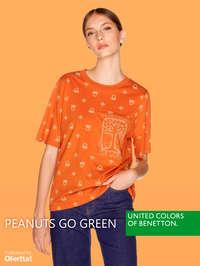 Peanuts go green