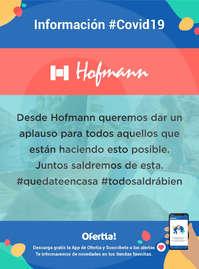 Información Hofmann #Covid19 #quédateencasa
