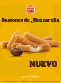 Bastones de Mozzarella 🧀