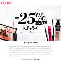 NYX 25% extra