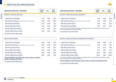 Tarifas 2021 Canarias- Page 1