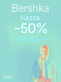 Hasta -50% solo online