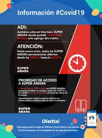 Información Super Amara #Covid19