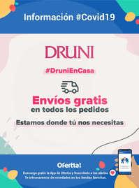 Información Druni #Covid19 Envíos gratis