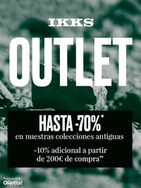 Outlet. Hasta -70%