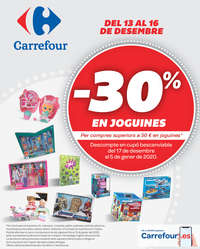-30% en joguines